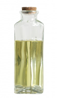 huile végétale bouteille
